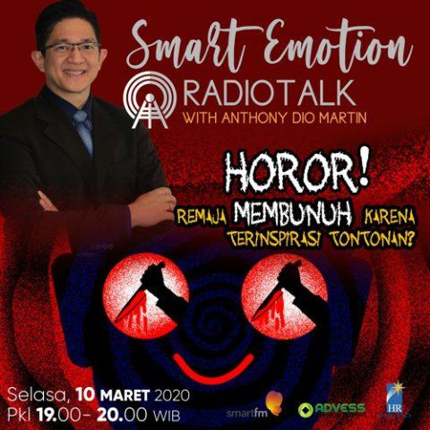 Smart Emotion: Horor! Remaja Membunuh Karena Terinspirasi