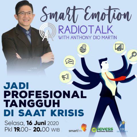Smart Emotion: Jadi Profesional Tangguh Di Saat Krisis