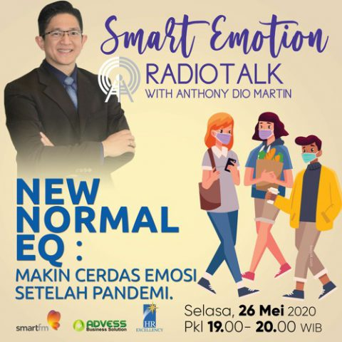 "Smart Emotion: ""NEW NORML EQ"" Makin Cerdas Emosi Setelah Pandemi!"