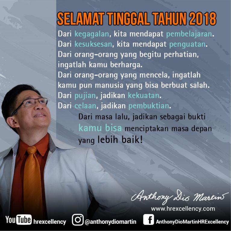 Selamat Tinggal 2018