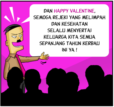 Marx in Corp Comic Series: Imlek Valentine