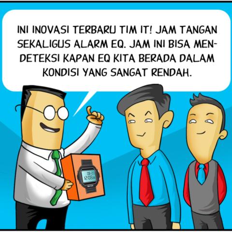 Marx in Corp Comic Series: EQ Watch