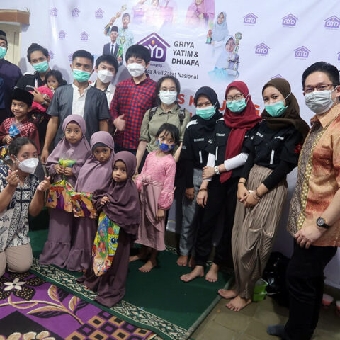 "Buka Puasa dan Belajar Bersama ""Yayasan Griya Yatim & Dhuafa (GYD) Cideng"", HR Excellency – MWS Indonesia – PT 3S Indonesia, Jakarta 10 Mei 2021"